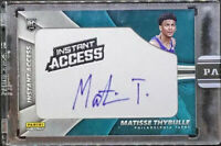 Matisse Thybulle 2019-20 Panini Instant Access Patch RC Autograph SSP AUTO /5!!