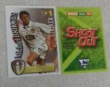 SHOOT OUT CARD 2003/04 (03/04) - Green Back - Leeds United - Michael Bridges