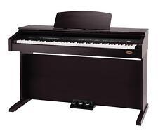 PIANO ELECTRIQUE PROFESSIONNEL DIGITAL 88 TOUCHES 26 VOIX 3 PEDALES BOIS DE ROSE