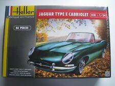 Jaguar E Cabriolet  Bausatz  Heller  86 Teile  Maßstab 1:24  OVP  NEU
