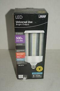 Feit Electric 500W Corn Cob E26 w/ E39 Mogul Adapter High Lumen LED Light Bulb