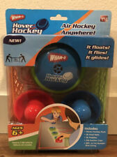 NIB Wham-O Hover Hockey Game Portable Air Hockey System Play Anywhere