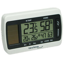 solar Thermometer Hygrometer Feuchtigkeitsmesser technoline WS 7007