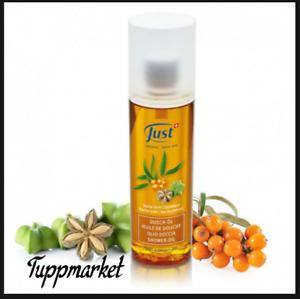 Sacha Inchi Buckthorn Shower Oil 200 ml  JUST swiss herbs special offer