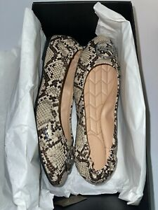 Coach Bailey Ballet Size 9.5 Women's Shoes in Natural New in Box!