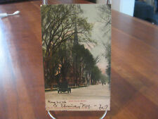 """1906 """"West Church Street"""" Elmira, N.Y. Postcard"""
