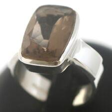 Ring 925 Sterling Silber mit Rauchquarz Echtschmuck  Wert 85,-