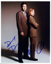 X-Files (Gillian Anderson & David Duchovny) signed 8x10 photo
