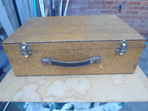 Vintage Fly Tying Box with lots of Materials