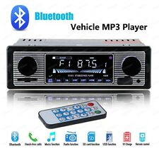 Classical Retro Style Bluetooth Car Stereo Radio USB/SD/MP3/AUX-IN/FM from DE