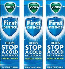 3 x Vicks First Defence Micro-Gel Nasal Spray 15ml