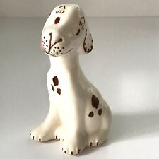 Vintage Rio Hondo Pottery Hound Dog - Sitting, Licking Lips