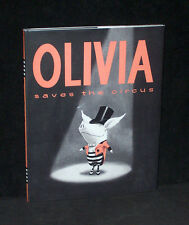 Olivia Saves the Circus by Ian Falconer -  2001 Atheneum HC 1st - Near Mint dj