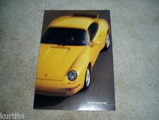 1995 Porsche Full Line 911 Carrera 928 GTS 968 sales brochure dealer folder