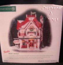 Dept 56 North Pole Series Barbie Boutique NEW in Box RETIRED