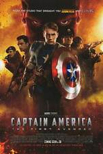 Captain America First Avenger - original DS movie poster D/S 27x40 2011 INTL