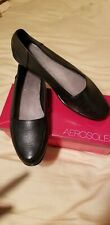 Aerosoles Bet It All Black Leather Women's Shoes Size 11 NEW