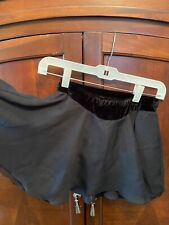 Ice Figure Skating skirt Jerrys Black / velvet sz small Euc