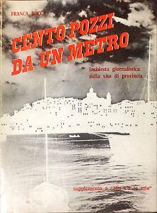 CENTO POZZI DA UN METRO  - FRANCA ROCCA - 1984