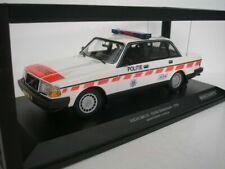 VOLVO 240 GL 1986 POLITIE NETHERLANDS MINICHAMPS 155171498 1/18 POLICE PAYS BAS
