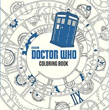 Doctor Who Adult Coloring Book by Price Stern Sloan - 96 pgs Paperback