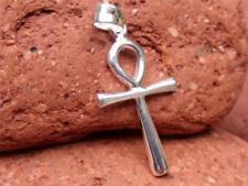 Handgefertigte Kreuz Echtschmuck-Halsketten & -Anhänger für Damen