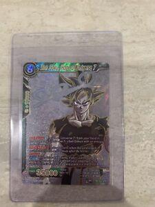 Son Goku Hope Of Universe 7 TB1-052 SPR NM Signature Rare Dragon Ball Super CCG