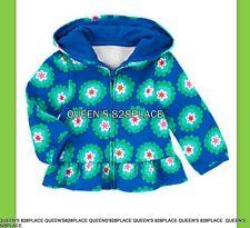 Nwt Gymboree girls 12-24 months Sweet Music blue floral hoodie zip jacket new
