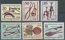 DDR  Mi 2640/5, Medizin-Historische-Sammlung Leipzig,  postfr., ,  1981