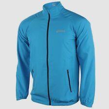 Mens Blue asics Motion Woven Jacket Jackets Running Jogging Fitness Sports S L