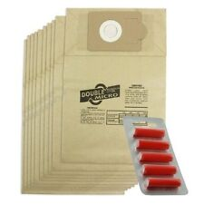 VICTOR V9 D9A Commercial Vacuum Cleaner Hoover Dust Bags 20 Pack + 5 Fresheners