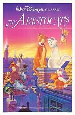 The Aristocats original Disney 27x41 one sheet movie poster Cats