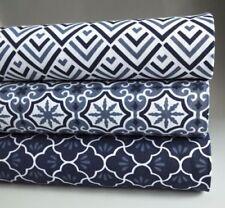 Telas y tejidos geométricos de 100% algodón para costura y mercería