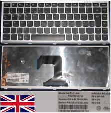 QWERTY KEYBOARD UK LENOVO IdeaPad U410 T3C1-UK NSK-BCASQ 9Z.N7GSQ.A0U