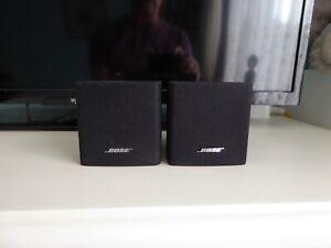 Bose Acoustimass single satellite surround sound speakers (pair) in black