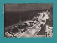 FRANCE NICE La Promenade Effet De nuit Real Photo postcard Le Baie Des Anges
