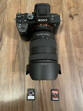 Sony Alpha A7 III 24.2MP Digital Camera - Black (Kit with G 24-105mm F/4)