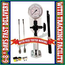 Diesel Injector Nozzle Pop Tester Glycerin Filled Dual Scale 6000 Bar/Psi Gauge*