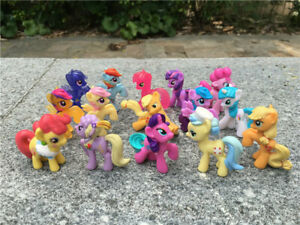 "Geniune My Little Pony MLP 20pcs 1"" Mini Toy Collection Figures Random New Loose"
