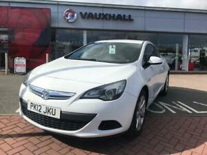 2012 Vauxhall Astra GTC Sport 1.4T 140PS S/S Coupe Hatchback Petrol Manual