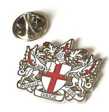 London Coat of Arms Enamel Lapel Pin Badge (T1239)