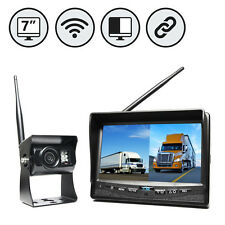"Wireless Backup Camera System w/ 7"" Dual Screen RVS-2CAM [Certified Refurbished]"