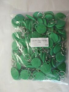 100 x 125k rfid read only tags  green