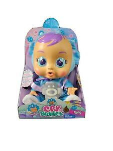 """Cry Babies TINA TRICERATOPS """"Exclusive""""Fantasy Baby Doll DINOSAUR COSTUME! New"""