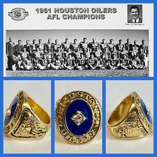 Houston Oilers 1961 AFL Championship Ring Size 11