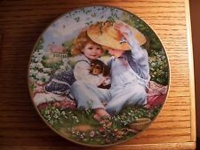 """Knowles Collector Plate """"A Time To Love"""" Sandra Kuck, Reco"""