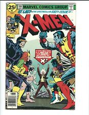 X-Men #100 (Sept 1976, Marvel), Old X-Men Vs. New X cracked out of case CGC 5.5