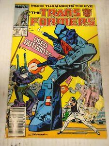 Marvel TRANSFORMERS #32 (1987) Goldbug, Combaticons, Protectobots, Don Perlin