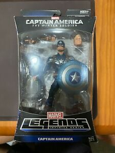 HASBRO MARVEL LEGENDS MANDROID WINTER SOLDIER SERIES CAPTAIN AMERICA UNOPENED