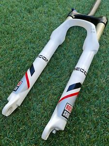 "Rockshox RECON SL Solo Air Fork 1 1/8 Steerer Disc 26"" MTB Very Nice Condition!!"
